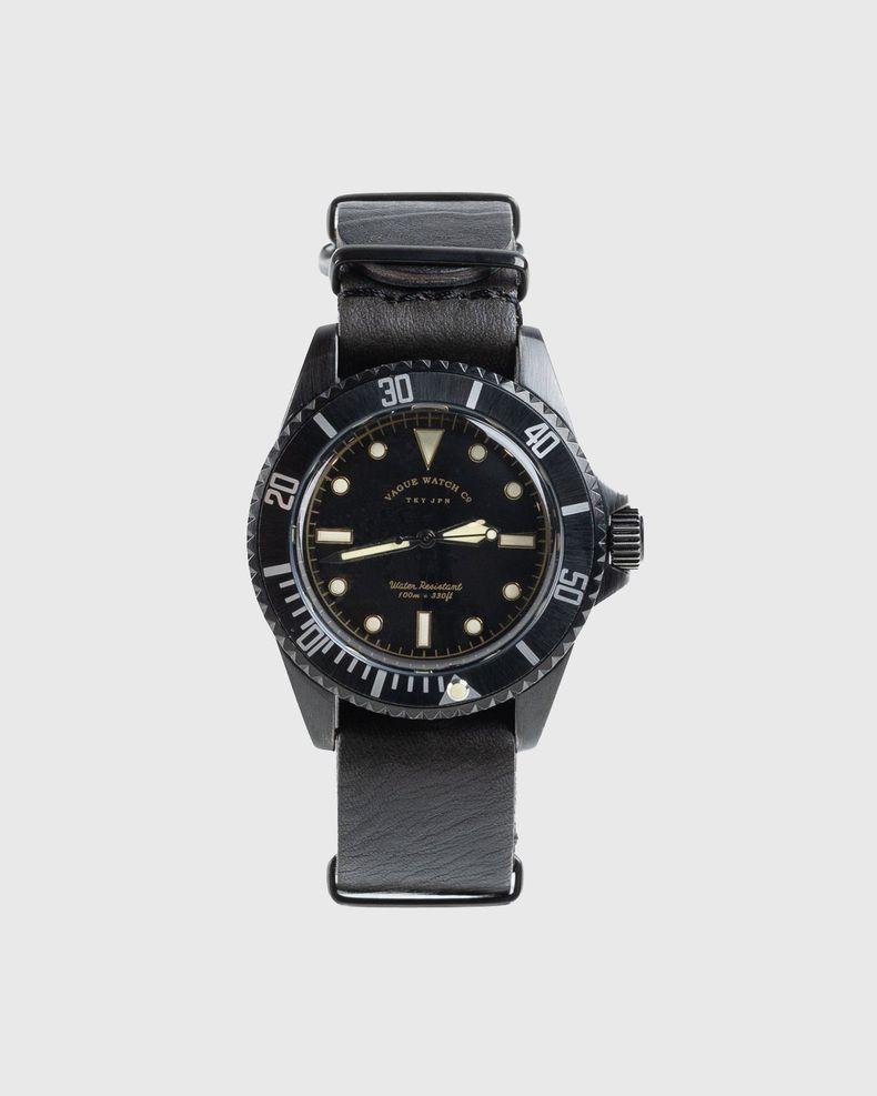 Vague Watch Co. – Submariner Black