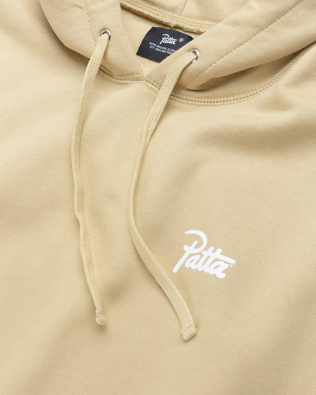 PATTA – Basic Hooded Sweater Khaki - Image 4