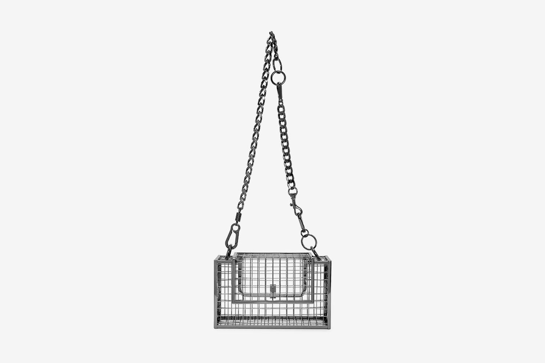 Gunmetal Desi Messenger Bag