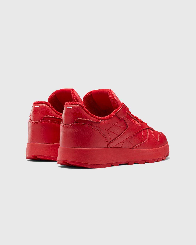 Maison Margiela x Reebok — Classic Leather Tabi Red - Image 3
