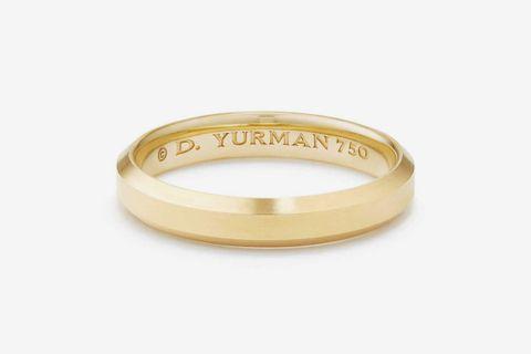 Streamline Band Ring in 18K Gold