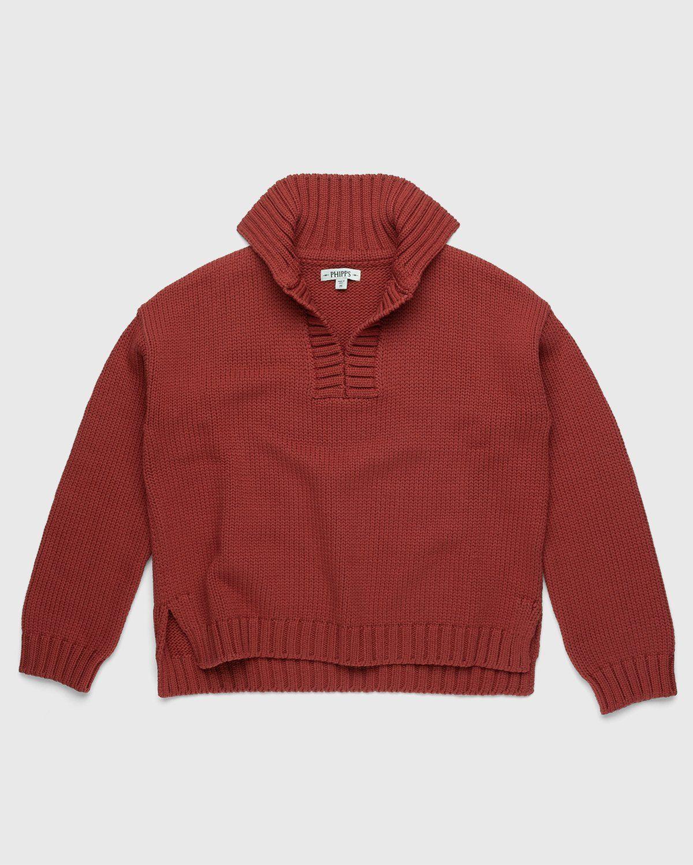 PHIPPS – Vareuse Sweater Rust - Image 1