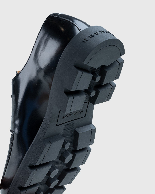 Maison Margiela – Cleated Sole Shoes Black - Image 6