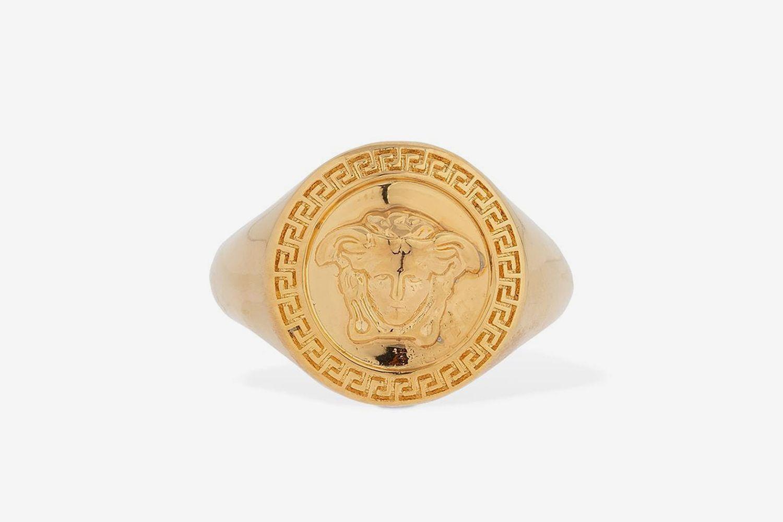 Classic Round Medusa Ring