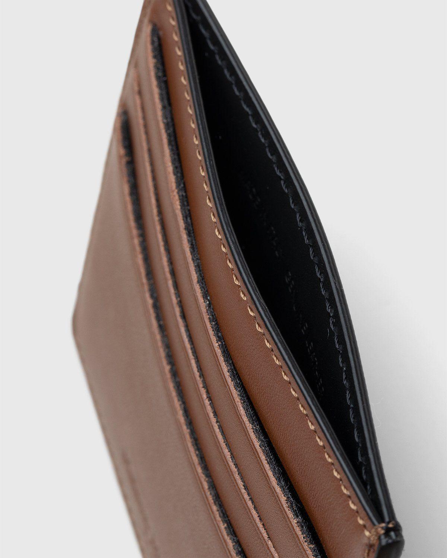 Maison Margiela – Leather Card Holder Brown - Image 3