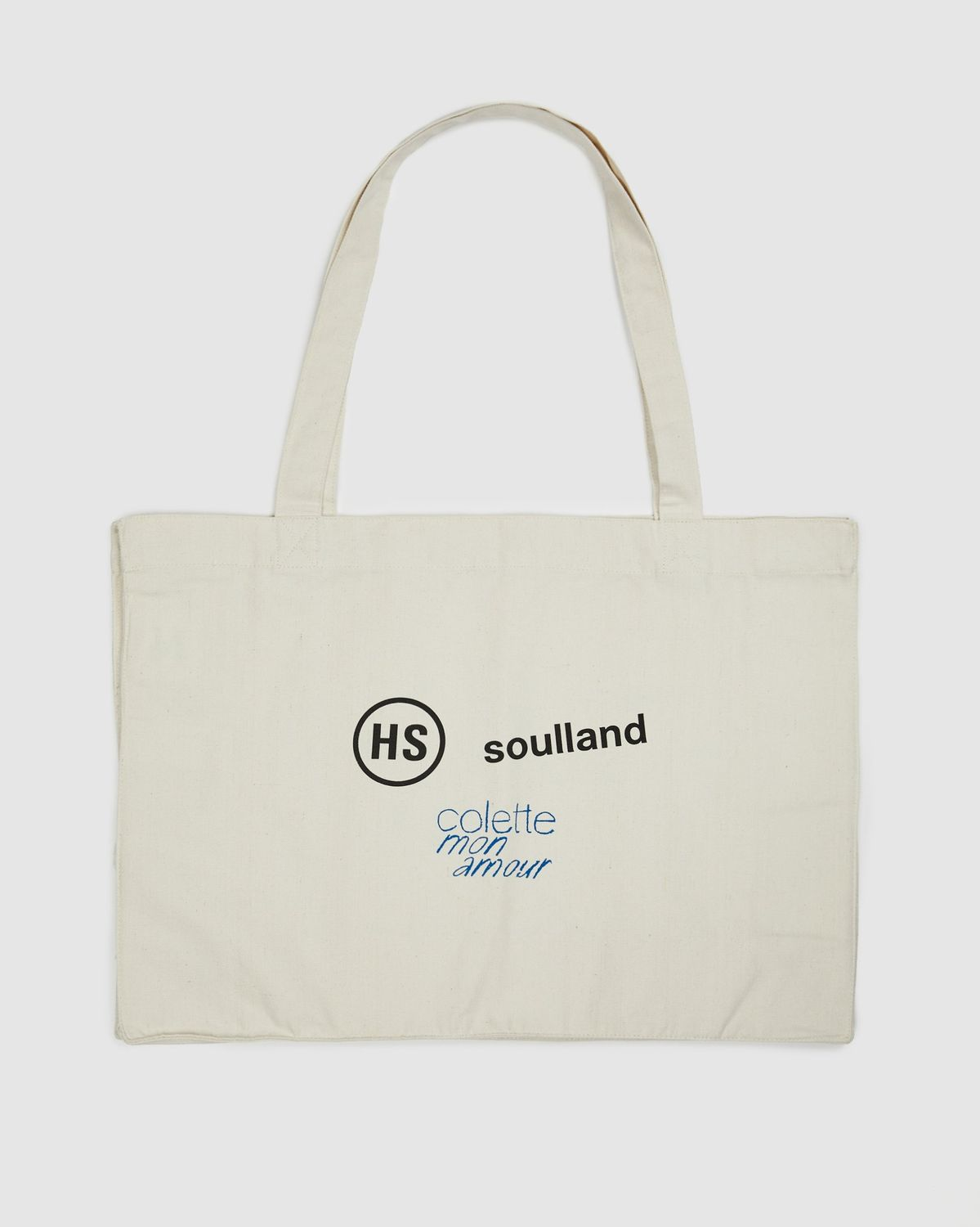 Colette Mon Amour x Soulland -  Snoopy Comics White Totebag - Image 2