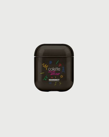 Colette Mon Amour - Casetify AirPod Cover Black