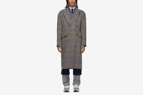 Wool Sherlock Double Coat