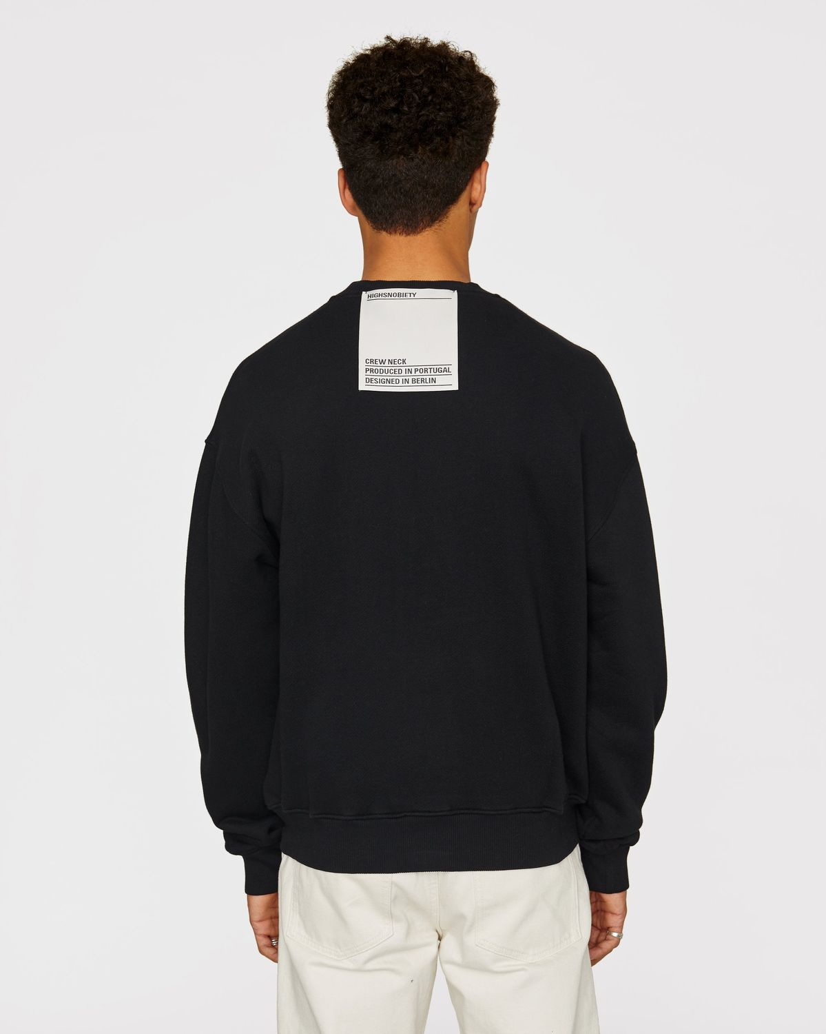 Highsnobiety Staples - Sweatshirt Black - Image 3