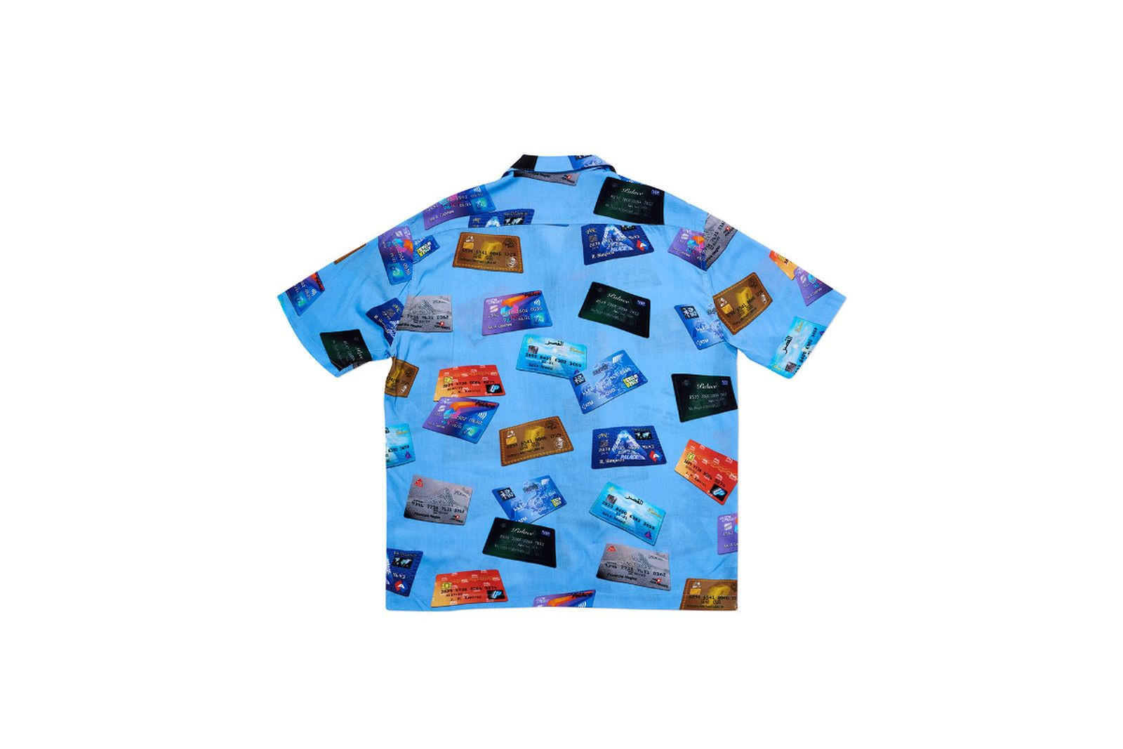 Palace 2019 Autumn Shirt contactless blue back2604 fw19