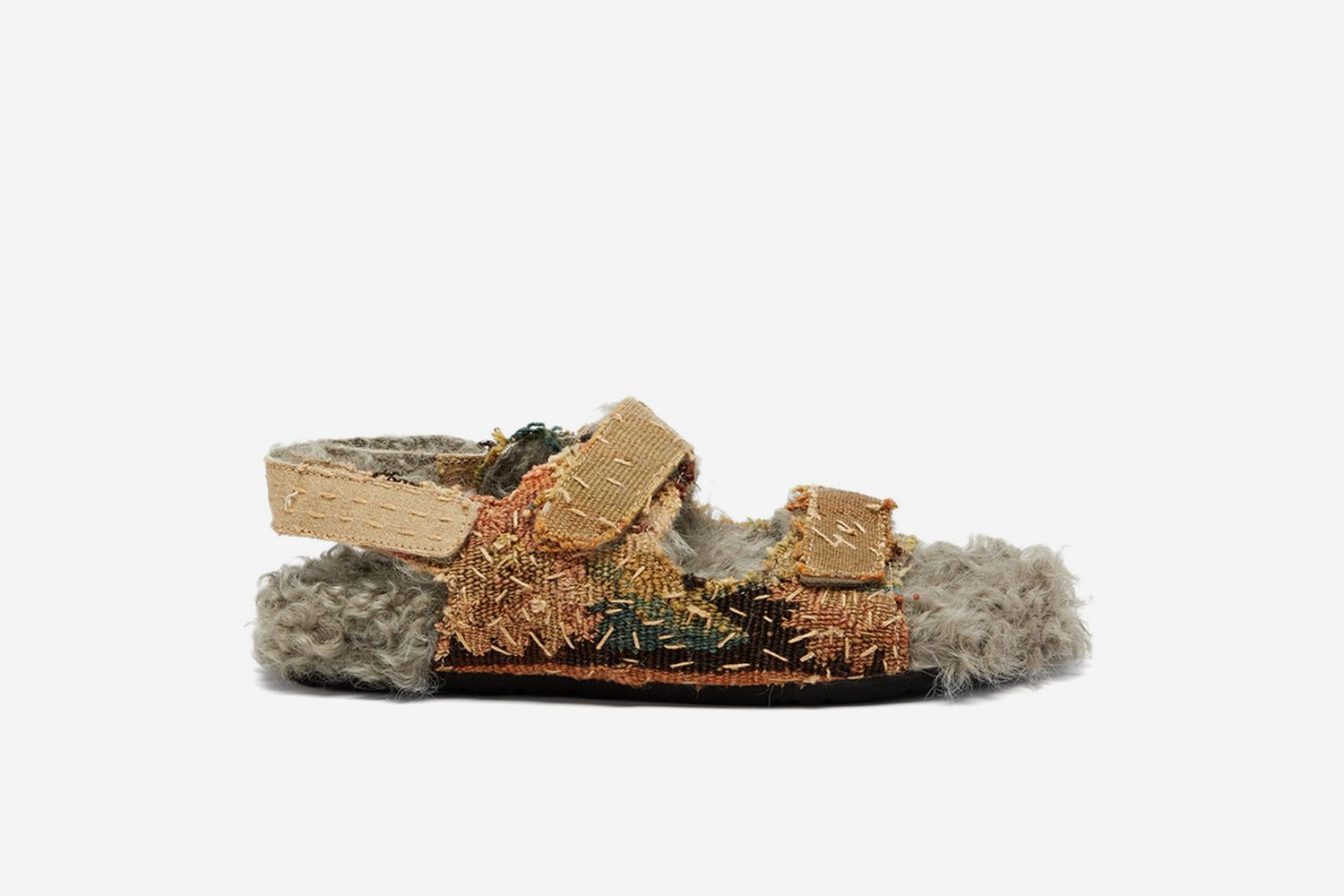 Felix 17th Century Shearling Lined Sandals