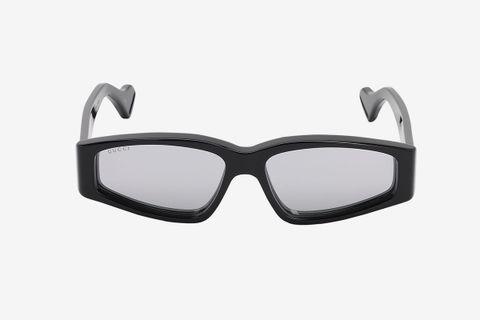 Squared Sunglasses W/ Mirror Lenses