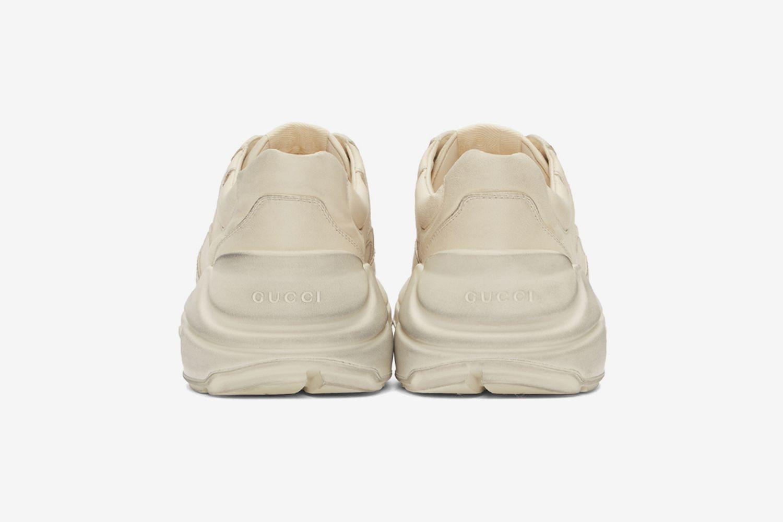 Distressed Rhyton Sneakers