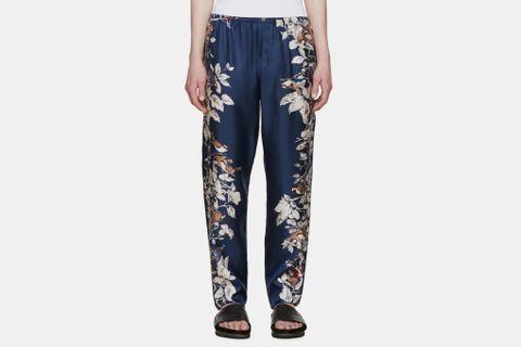 Silk Trousers