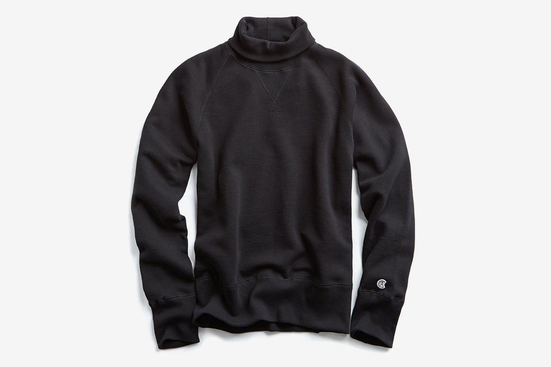 Heavyweight Turtleneck Sweatshirt