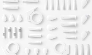 Functionality Meets Uber-Minimalism With Nendo's GLOO Sticky Stationery