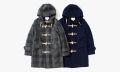 nanamica Harris Tweed Duffle Coat