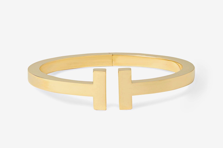 Tiffany T Square 18-Karat Gold Cuff
