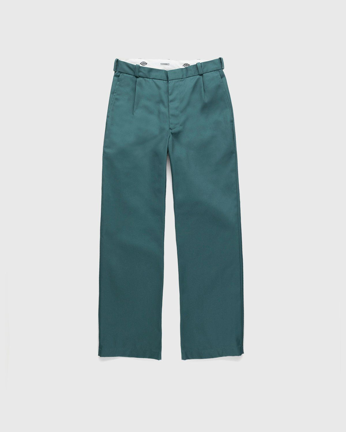 Highsnobiety x Dickies – Pleated Work Pants Lincoln Green - Image 1