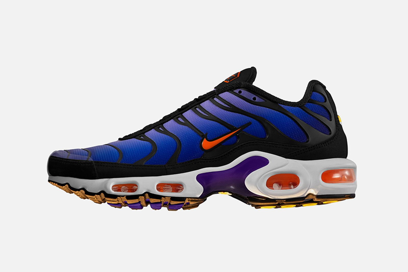 nike air max plus hyperblue sunset purple release date price