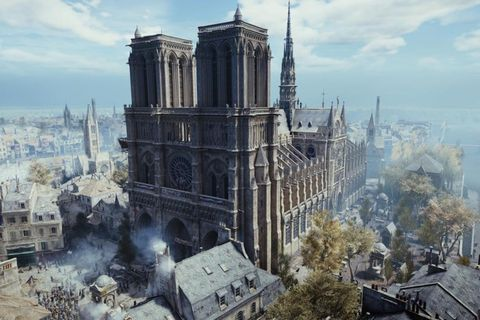 assassins creed notre dame donation Notre Dame Cathedral assassin's creed