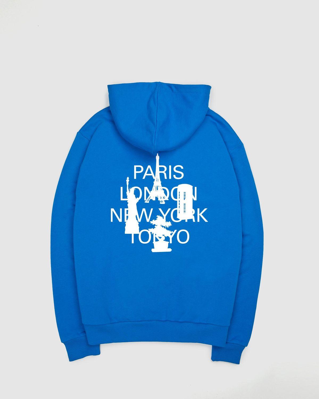 Colette Mon Amour — City Series Hoodie Blue - Image 1