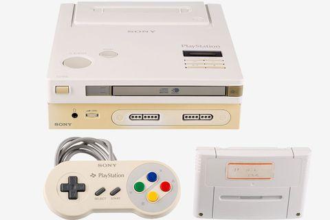 Sony Nintendo Play Station prototype
