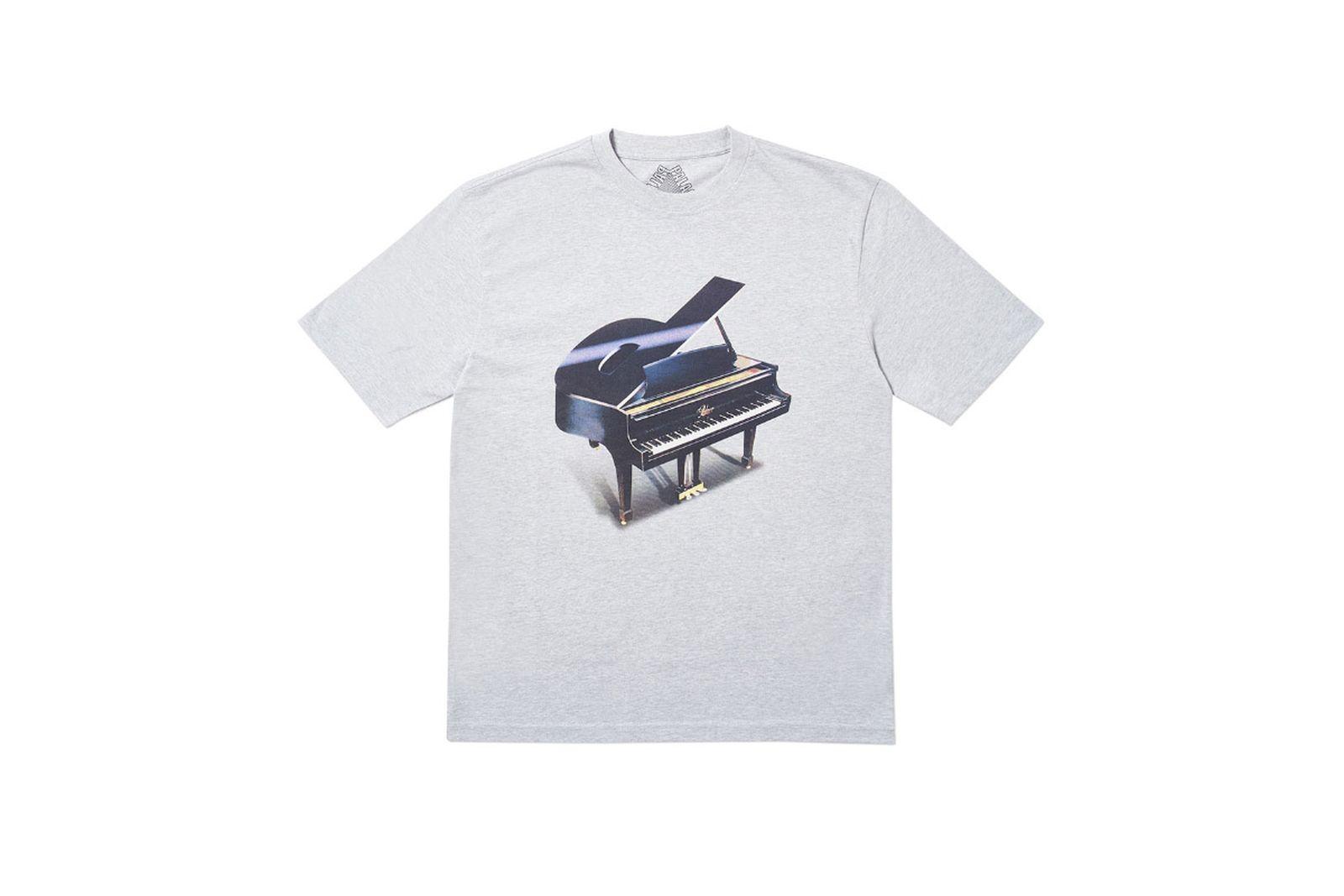 Palace 2019 Autumn T Shirt Grand white