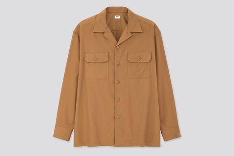 Oversized Work Long-Sleeve Shirt