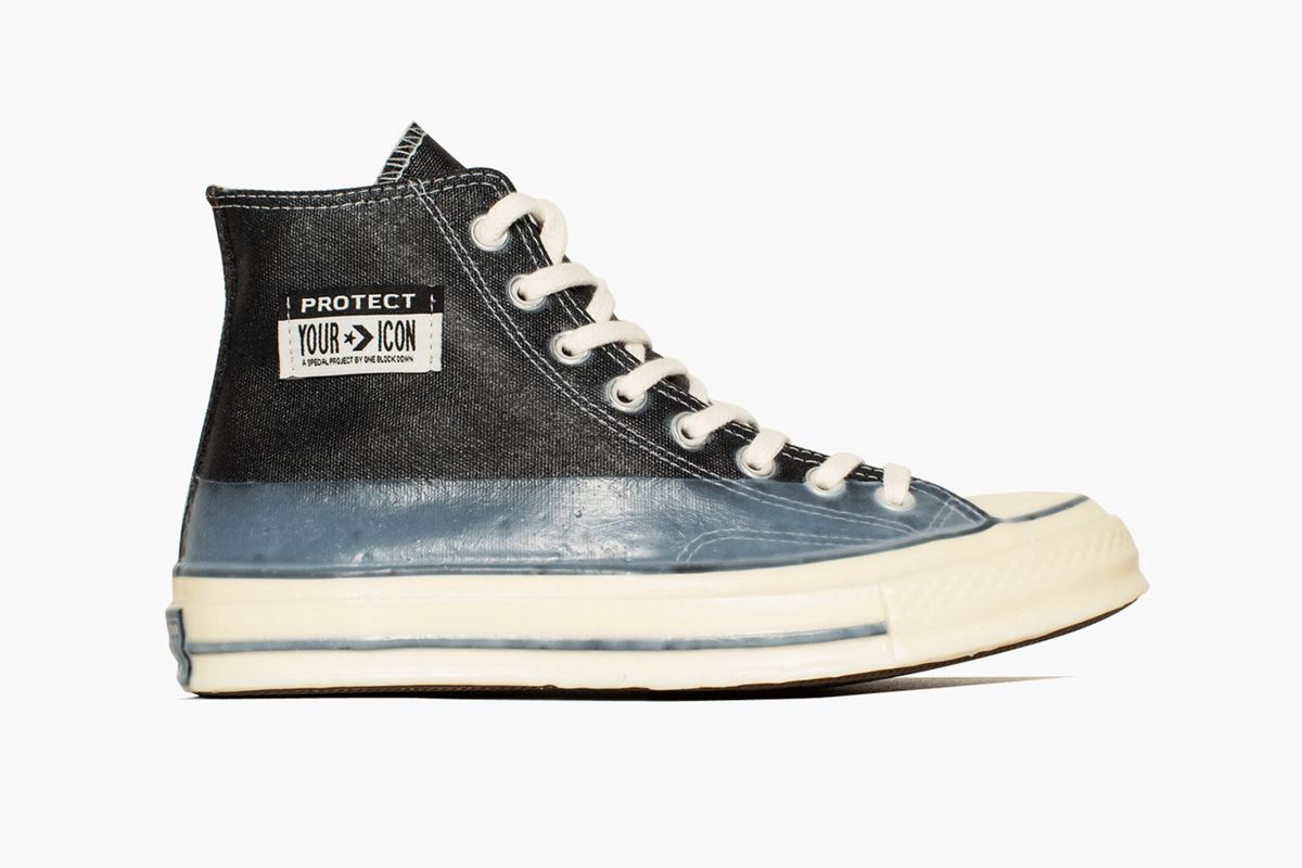 Take Your First Look at Converse x One Block Down's Full-Resin Chuck 70