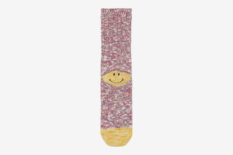 56 Yarns Smiley Socks