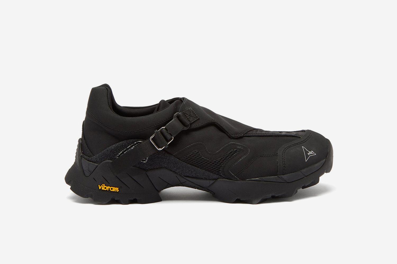 Minaar Buckled Neoprene Hiking Sneakers
