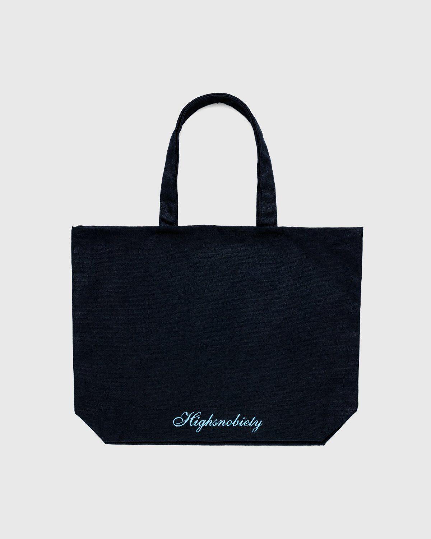 Highsnobiety — Not In Paris 3 x Galerie Perrotin Tote Bag Black - Image 2