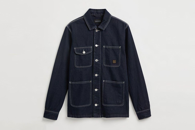Good Cotton Denim Overshirt