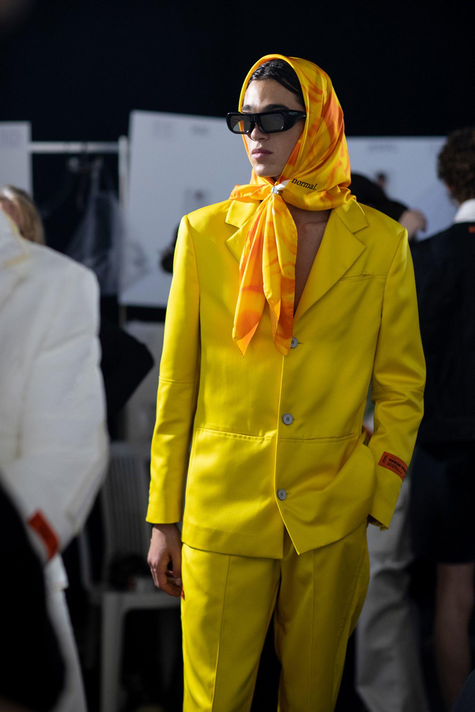 MSS20 Paris HeronPreston EvaAlDesnudo For Web 14 Heron Preston paris fashion week runway