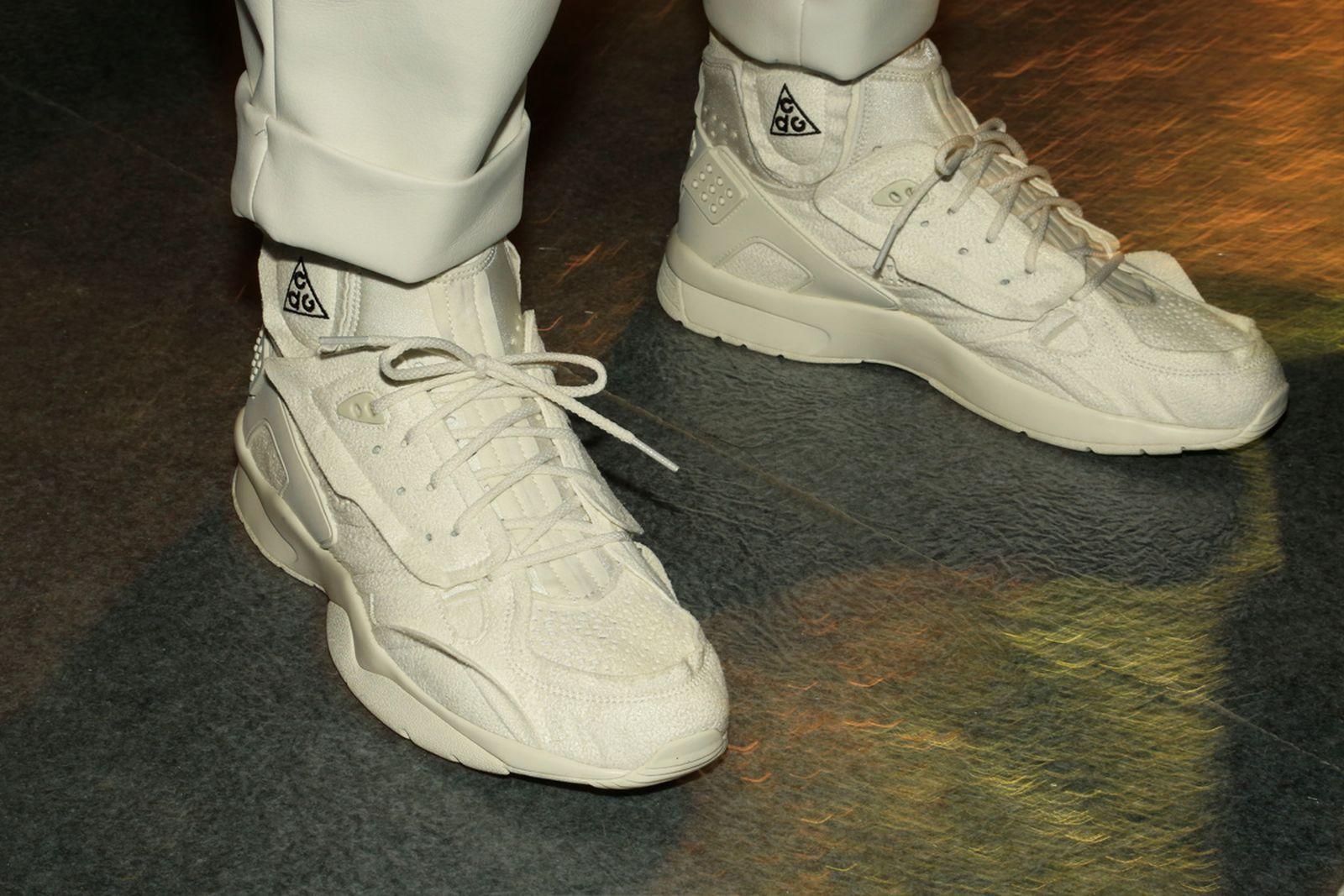 fw18 fashion week best sneakers CDG ACG 2Chainz Maison Margiela Nike