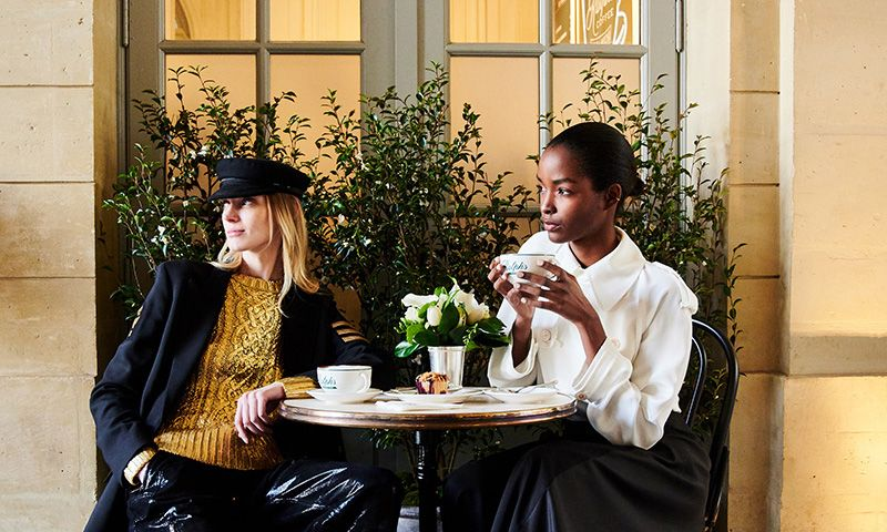 Here's Your First Look Inside Ralph Lauren's New Parisian Coffee Shop