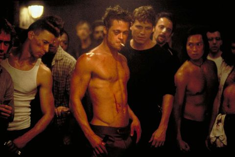 brad pitt workout routine Main Tyler Turden fight club