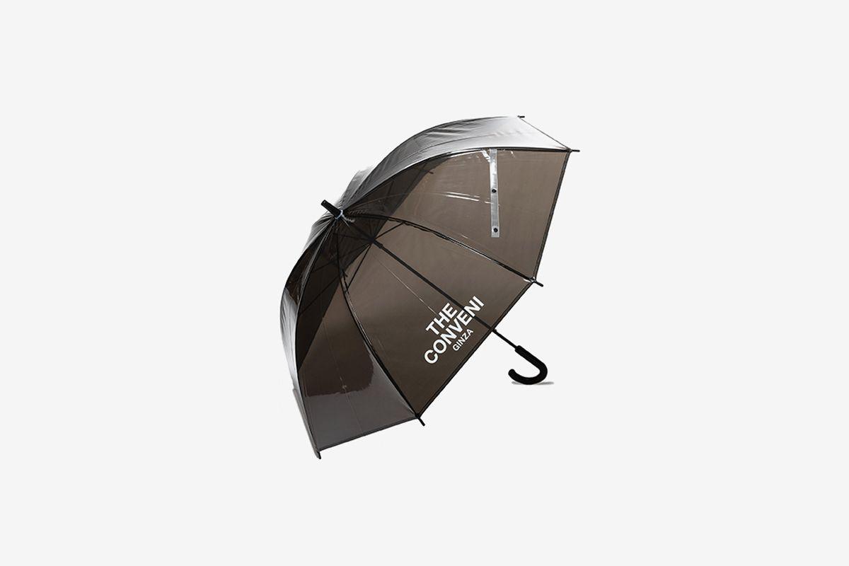 Clear Umbrella Black