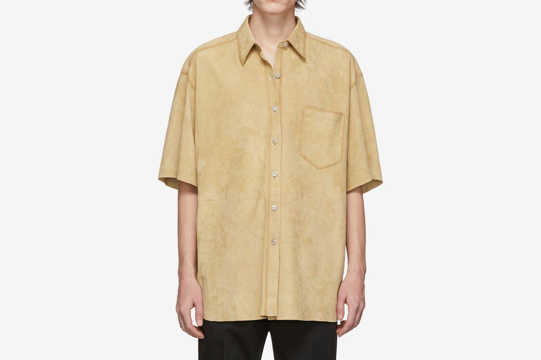 Beige Nubuck Larin Shirt