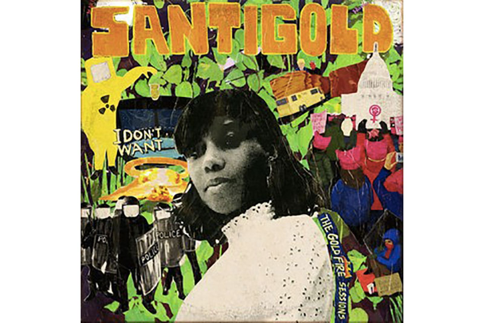 santigold i dont want review i don't want: the goldfire sessions