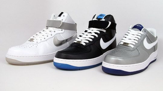 8f4a86d8541 Nike x Futura x New York Yankees Air Force 1 Pack - Release ...