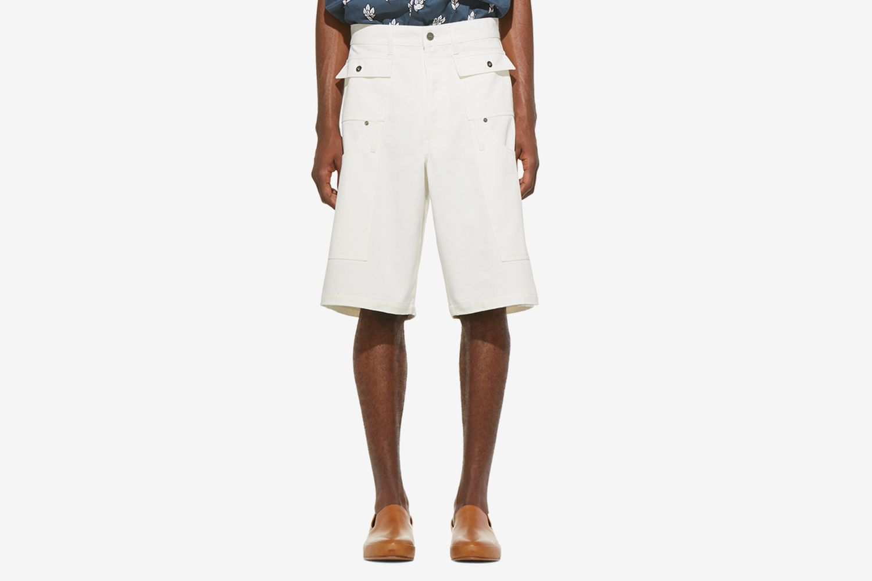 Denim 'Le Short Pêcheur' Shorts