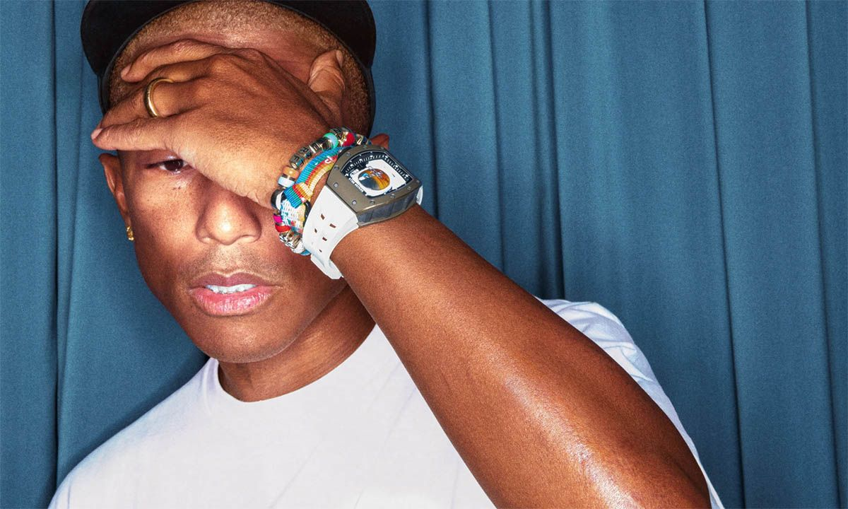 Pharrell's Million-Dollar Richard Mille Watch Is Out of This World