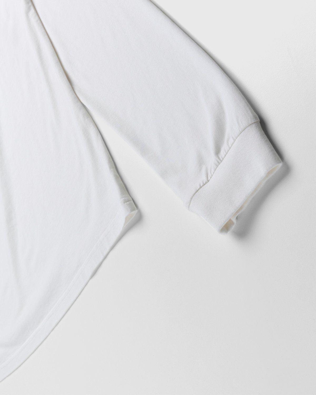 PHIPPS – Logo Longsleeve White - Image 3