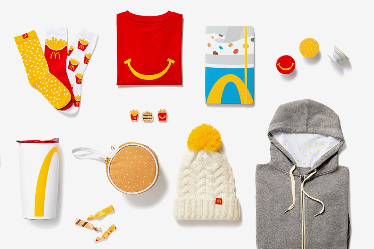 Would You Wear McDonald's First Fast-Food Themed Apparel Collection?