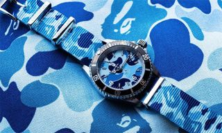 BAPE Shows Off New Camo Type 1 BAPEX Watches