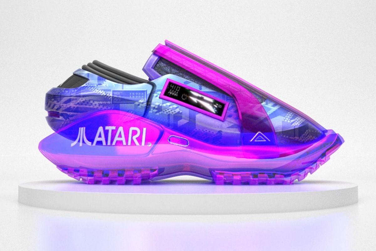 RTKFT Studios & Atari Made Sneakers for Your Digital Closet 3