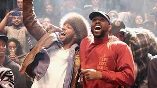 Kanye West Unveils Possible Artwork for Joint Kid Cudi Project Bandstand Kids See Ghosts
