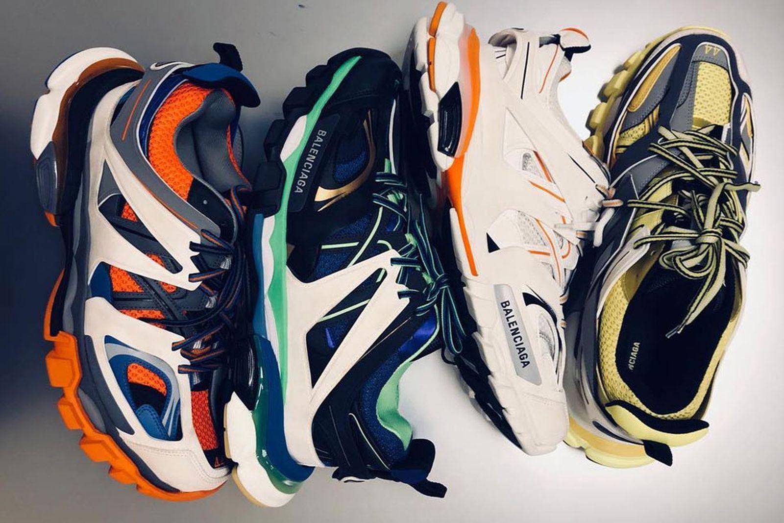 balenciaga hiking sneaker fw18 release price main updagte trail sneaker